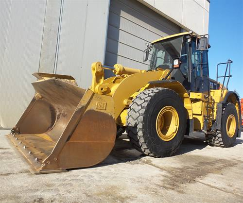 CATERPILLAR 950 H WHEEL LOADER