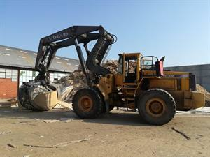 VOLVO L180C-HIGH LIFT WHEEL HANDLING LOADER